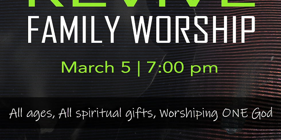 REVIVE Family Worship