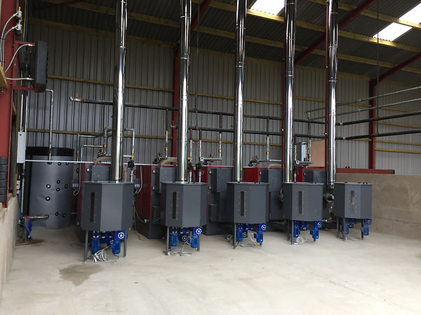 5 FACI Biomass Boiler installed in a hotel