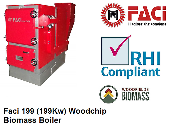 Faci 199 Biomass Boiler