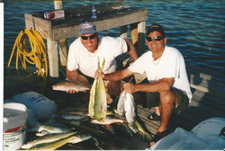 PAUL AND MIKE IN THE KEYS
