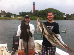 RYAN AND RONNIE BIG COBIA
