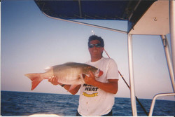 STEVE AND A MIAMI MUTTON