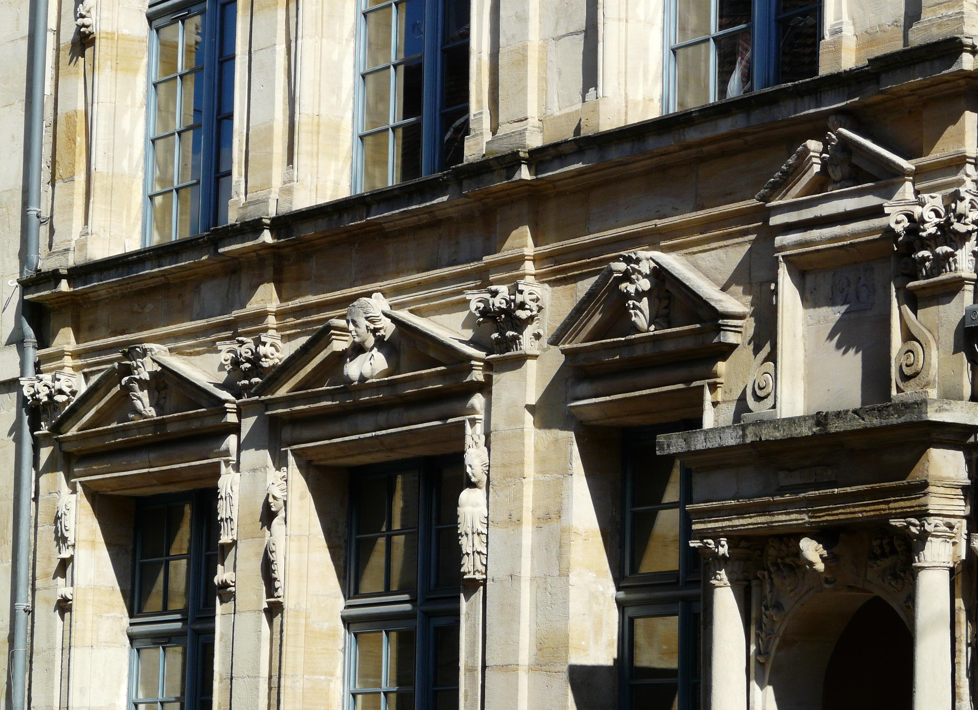 Bar-le-Duc - 26, rue du Bourg (détail)