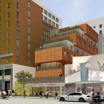 Hollywood Project Rendering