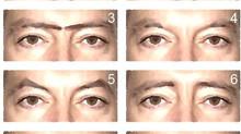 קריאת תווי פנים - 8 צורות בסיסיות של גבות