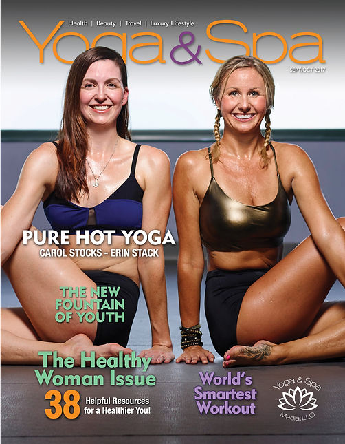 Yoga & Spa Magazine Design