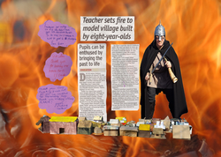 Viking Invasion of a Primary School