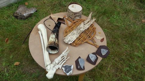 Stone Age Flint Knapping