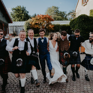 SCOTTISH-GERMAN WEDDING IN GERMANY. ORANGERIE WIESBADEN. KERRY & CRISTIAN