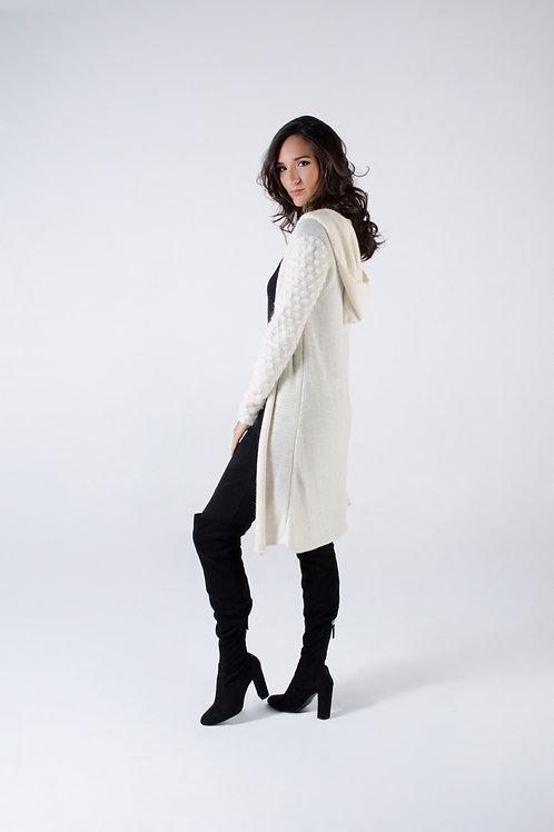 Sweater w/ hoodie