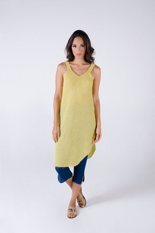 Yellow Alpaca dress