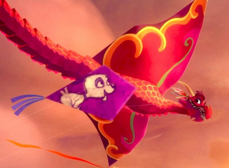 """Disney's VR animated short """"A Kite's Tale"""""""