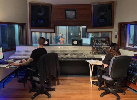 """Fish Head"" Recording Session"