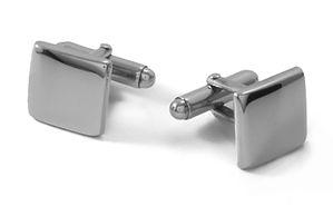 Butões de punho totalmente personalzáveis. Elegantíssimos, são produzidos em Prata de Lei de elevada pureza 925.