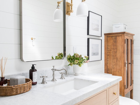 Powder Room Update: One Year Later