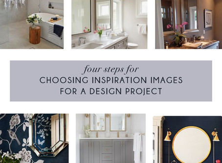 Four Steps for Choosing Inspiration Images for a Design Project