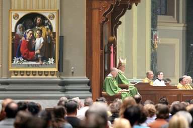 Unveiling of the 2015 World Meeting of Families icon