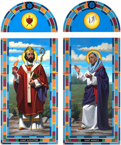 St. Augustine and St. Monica