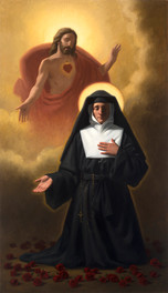 The Vision of St. Margaret Mary Alacoque
