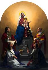 Sacred Conversation Altarpiece