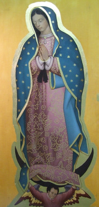 Our Lady of Guadalupe, Tilda Reproduction
