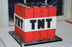 Minecraft TNT Silver Award