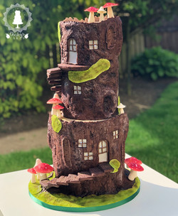 Fairy log house