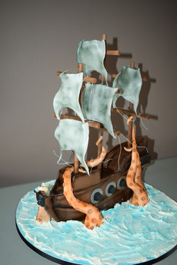 Pirate Ship Cake - Bronze Award