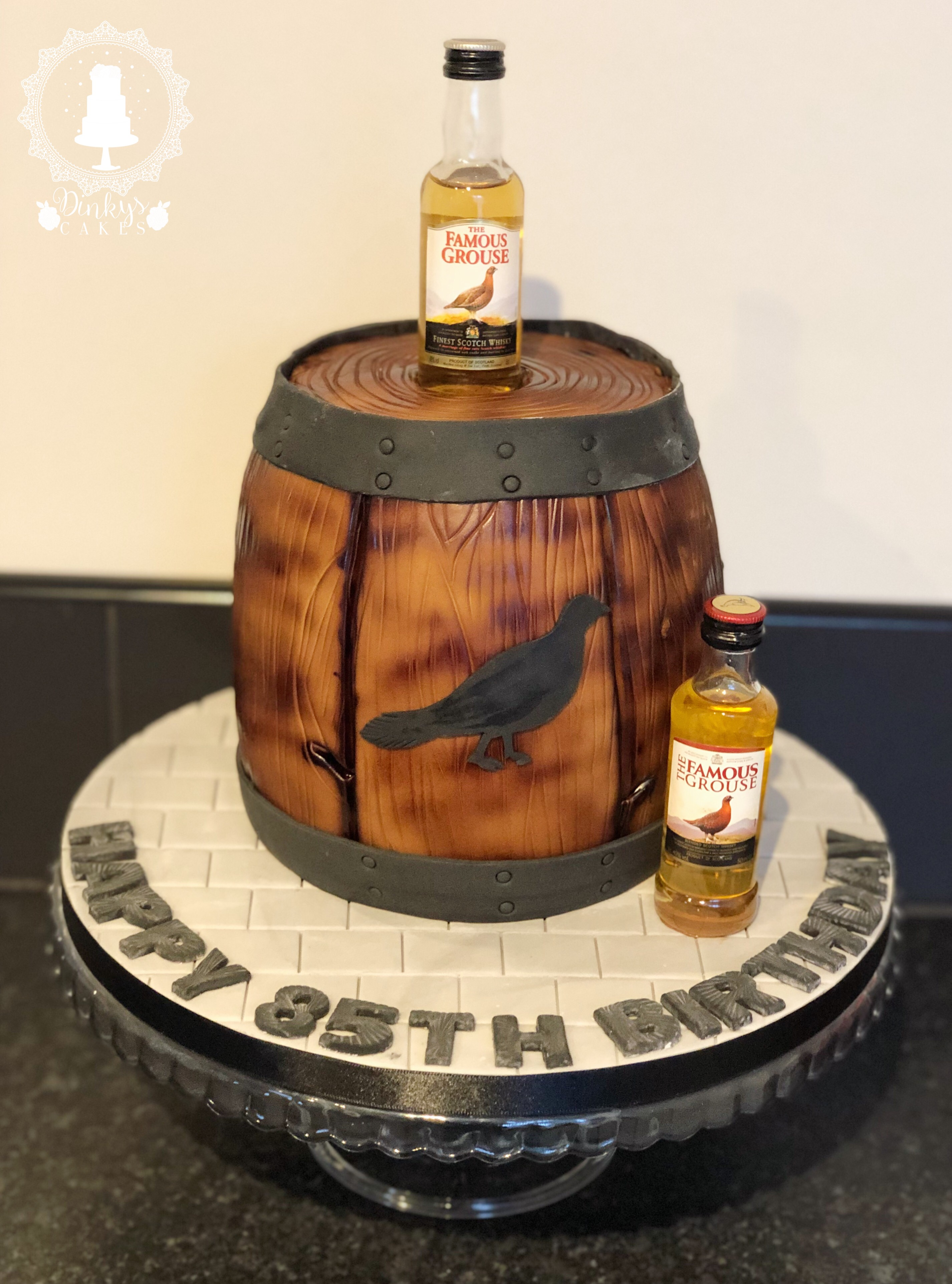 Famous Grouse Cake