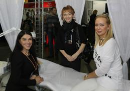 Valeria Barchenko, Oksana Maslennikova, Natali Stach, Saint-Petersburg 2012.