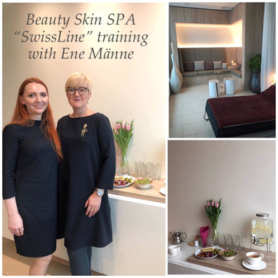 """SwissLine"" training with Ene Männe in Beauty Skin SPA, Tallinn."