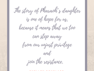 On Being Pharaoh's Daughter