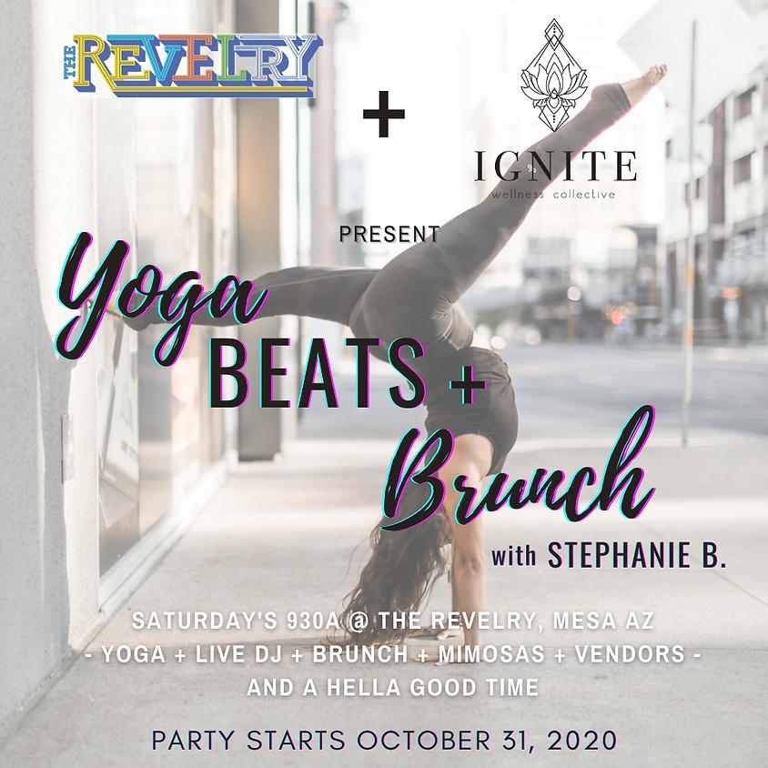 Yoga + Beats + Brunch Saturday @ The Revelry