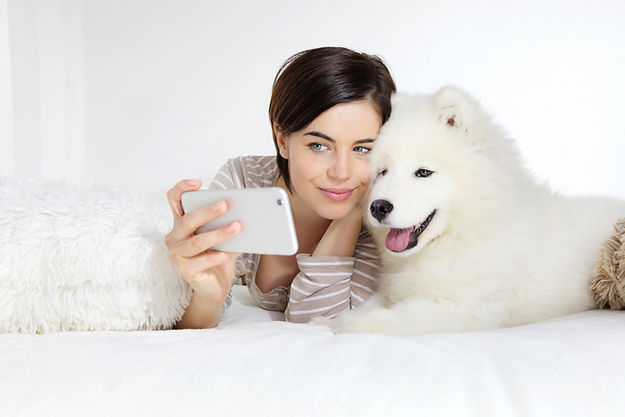 Anipanion Pet Picture woman and dog
