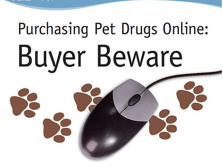 FDA Urges Consumers to use caution when buying pet medicine online - Buyer Beware