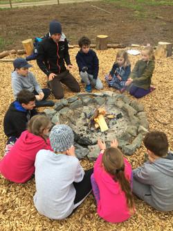 Camp fire fun