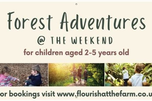 1st May Start - Forest Adventure 12.30pm-2pm