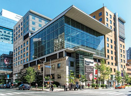 Toronto General Hospital e Alberta Children´s Hospital no Topo do Ranking Mundial