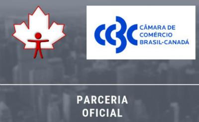 Parceria oficial com a Câmara de Comércio Brasil-Canadá