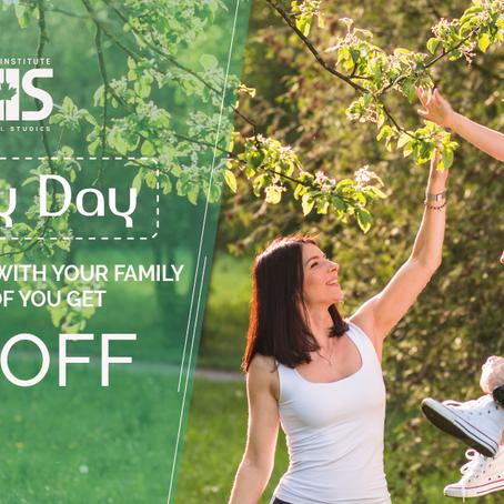 Family Day 2019- 50% de desconto!