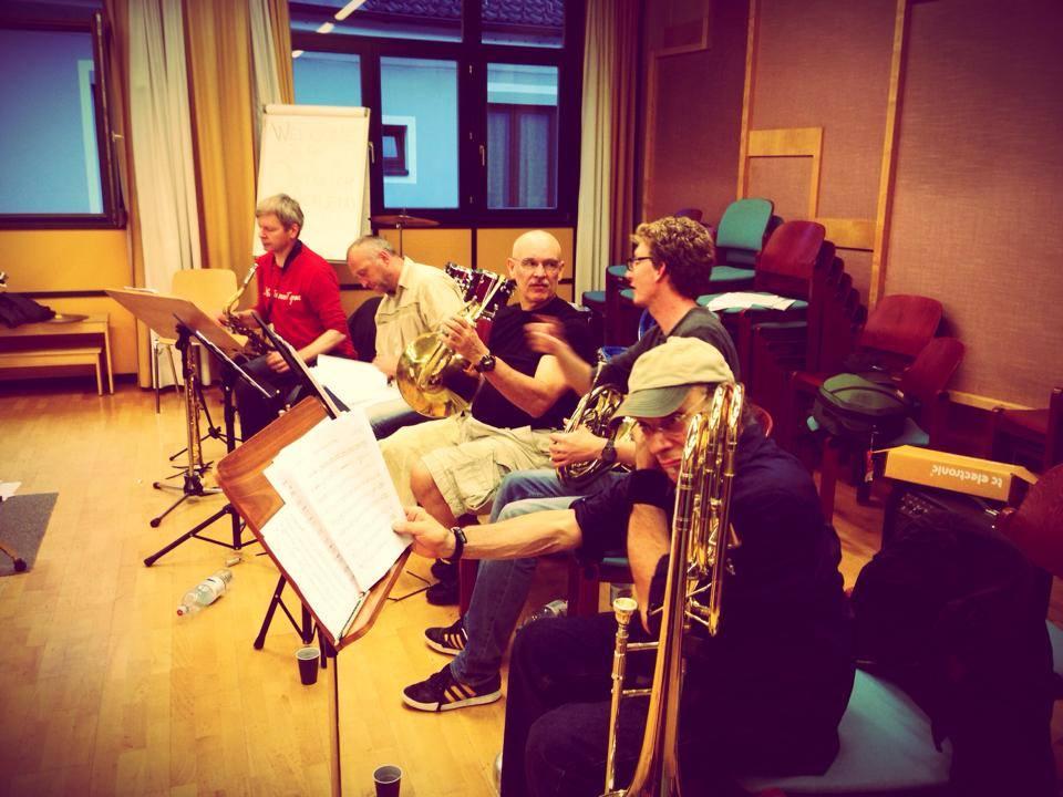 Outreach Festival - rehearsals