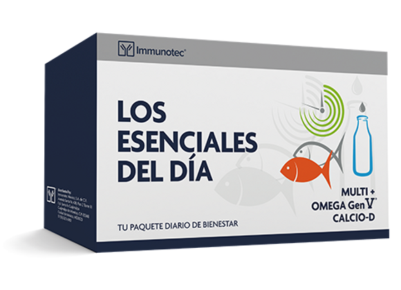 Los Esenciales del Día (Multi+Resveratrol, Omega Gen V y KLC-D)