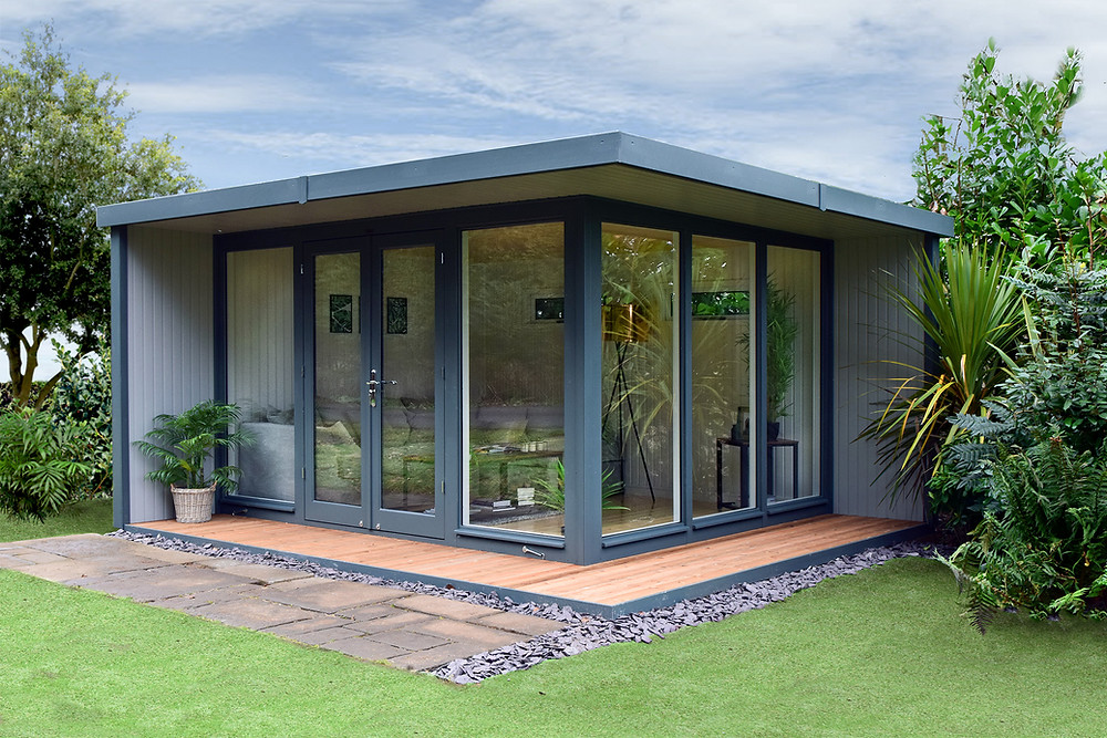 gardenroom gardenstudio gardenoffice summerhouse