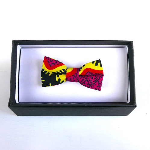 Small Pink Bow Tie