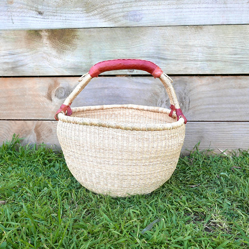 Large Round Natural Basket
