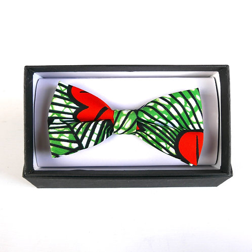 Large Green Bow Tie