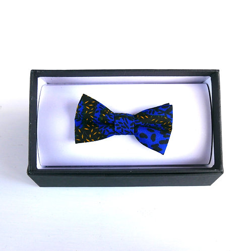 Small Blue Bow Tie
