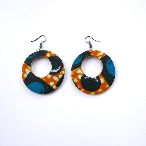 Holey Round Earrings