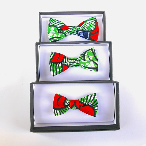 Green Combo - 3 Bow Ties