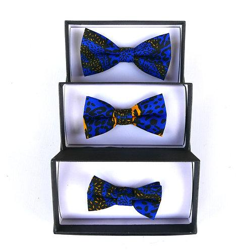Blue Combo - 3 Bow Ties